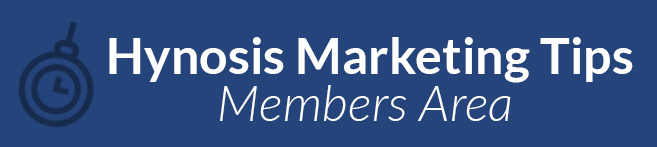Hypnosis Marketing Tips Members Area